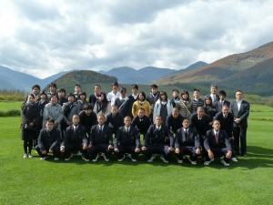 白樺学園高等学校への修学旅行